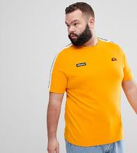 Ellesse | Оранжевая футболка с отделкой лентой на рукавах ellesse - Оранжевый | Clouty