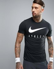 NIKE | Черная футболка Nike Training Dri-FIT Athlete 739420-010 - Белый | Clouty