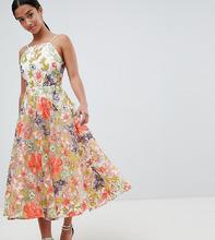 ASOS | Платье для выпускного с халтером и вышивкой ASOS EDITION Petite | Clouty