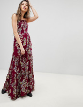 Free People   Платье макси Free People Garden Party - Розовый   Clouty