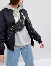 Hype | Серебристая сумка-кошелек на пояс Hype - Черный | Clouty