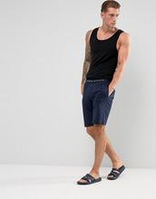 TOMMY HILFIGER | Темно-синие домашние шорты из хлопка Tommy Hilfiger - Темно-синий | Clouty