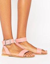 ASOS | Кожаные сандалии ASOS FLEEK - Оранжевый | Clouty