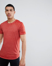 D-Struct | Длинная футболка D-Struct - Красный | Clouty