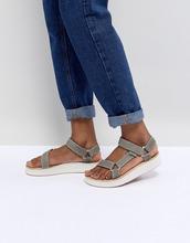 Teva | Зеленые сандалии Teva Midform Universal - Зеленый | Clouty