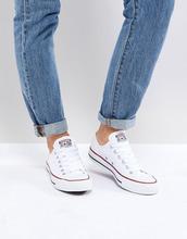 CONVERSE | Белые кроссовки Converse Chuck Taylor All Star ox - Белый | Clouty