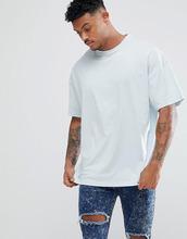 ASOS   Синяя oversize-футболка ASOS DESIGN - Синий   Clouty