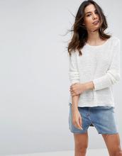 Blend She | Вязаный джемпер Blend She Tanne - Белый | Clouty