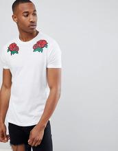 Brave Soul   Длинная футболка Brave Soul - Белый   Clouty