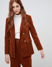 New Look | Комбинируемый вельветовый блейзер New Look - Оранжевый | Clouty