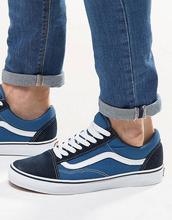 VANS | Синие кроссовки Vans Old Skool VD3HNVY - Синий | Clouty