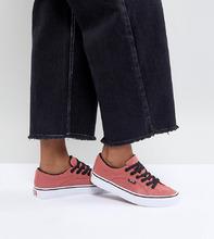 VANS | Розовые кеды унисекс Vans Lampin - Розовый | Clouty