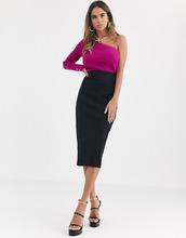 ASOS | Длинная юбка-карандаш ASOS DESIGN - Черный | Clouty