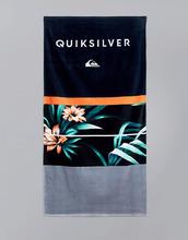 QUIKSILVER | Полотенце с гавайским цветочным принтом Quiksilver Freshness - Черный | Clouty