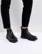 H By Hudson | Кожаные ботинки челси H By Hudson - Черный | Clouty