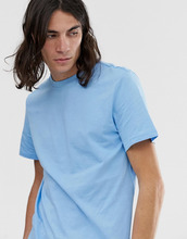 Weekday | Синяя футболка Weekday Alan - Синий | Clouty
