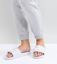 NIKE | Белые шлепанцы Nike - Белый | Clouty