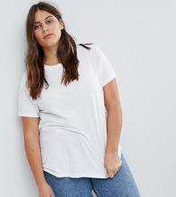 ASOS | Белая футболка с круглым вырезом ASOS DESIGN Curve ultimate - Белый | Clouty