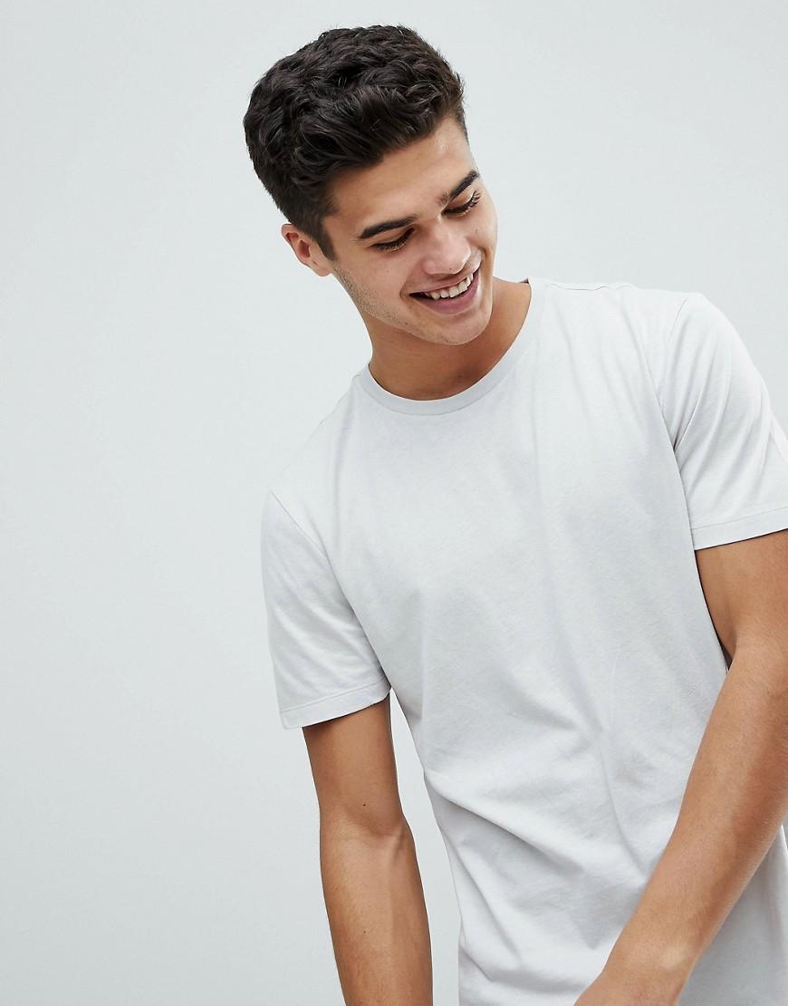 New Look   Светло-серая футболка New Look - Серый   Clouty