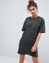 ASOS | Платье-футболка с леопардовым принтом ASOS Ultimate - Мульти | Clouty