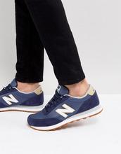 New Balance | Синие кроссовки New Balance 501 - Синий | Clouty