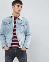 Levi's   Куртка с искусственным мехом Levi's type 3 - Синий   Clouty