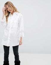 Anna Sui | Рубашка с кружевной отделкой Anna Sui Vine - Белый | Clouty