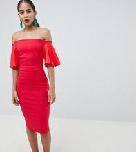 Vesper   Платье с открытыми плечами и короткими рукавами Vesper Tall   Clouty