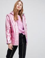 Glamorous | Дождевик металлик Glamorous - Розовый | Clouty