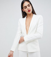 asos design | Блейзер ASOS DESIGN Tall Tailored - Белый | Clouty
