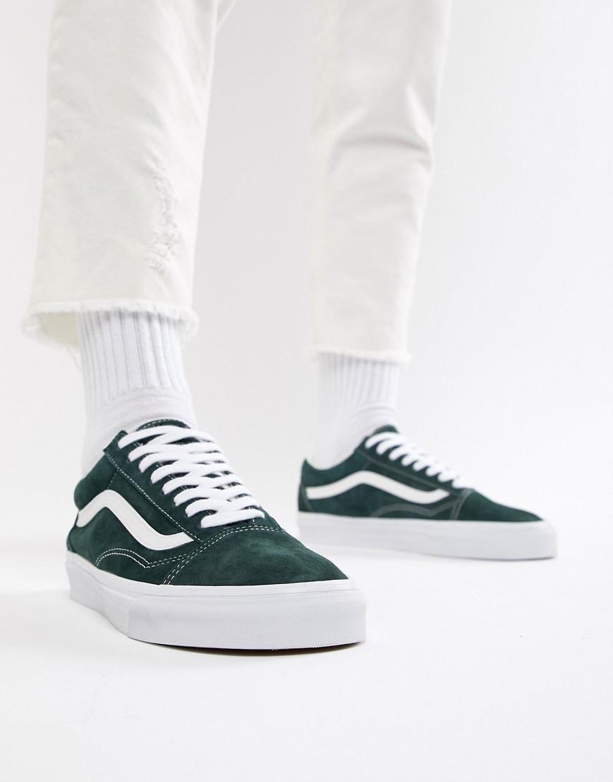 Зеленые кроссовки Vans Old Skool VN0A38G1U5J1 - Зеленый ... db6db252062ca