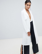 Missguided | Белый тренч Missguided - Белый | Clouty