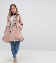 ASOS   Дафлкот ASOS PETITE - Розовый   Clouty