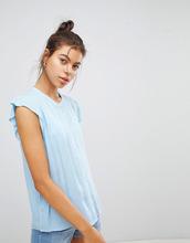 Blend She   Джинсовая рубашка без воротника с короткими рукавами Blend She Elisa   Clouty