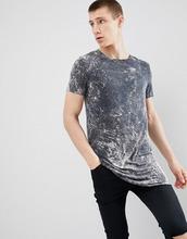 ASOS | Серая длинная футболка ASOS DESIGN - Серый | Clouty
