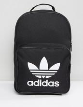 adidas Originals   Черный рюкзак с карманом спереди adidas Originals Trefoil BK6723   Clouty