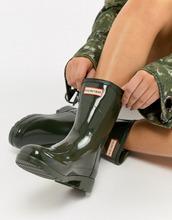 Hunter | Невысокие резиновые сапоги Hunter - Зеленый | Clouty