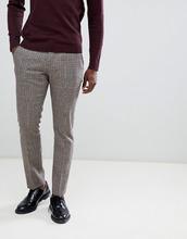 Selected Homme | Узкие брюки в клеточку Selected Homme - Серый | Clouty