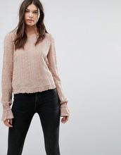 AllSaints | Лонгслив AllSaints - Розовый | Clouty