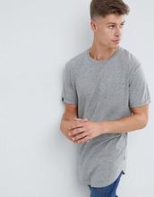 Produkt | Удлиненная базовая футболка Produkt - Серый | Clouty