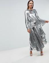 ASOS | Платье миди с заниженной талией и пайетками ASOS EDITION - Мульти | Clouty