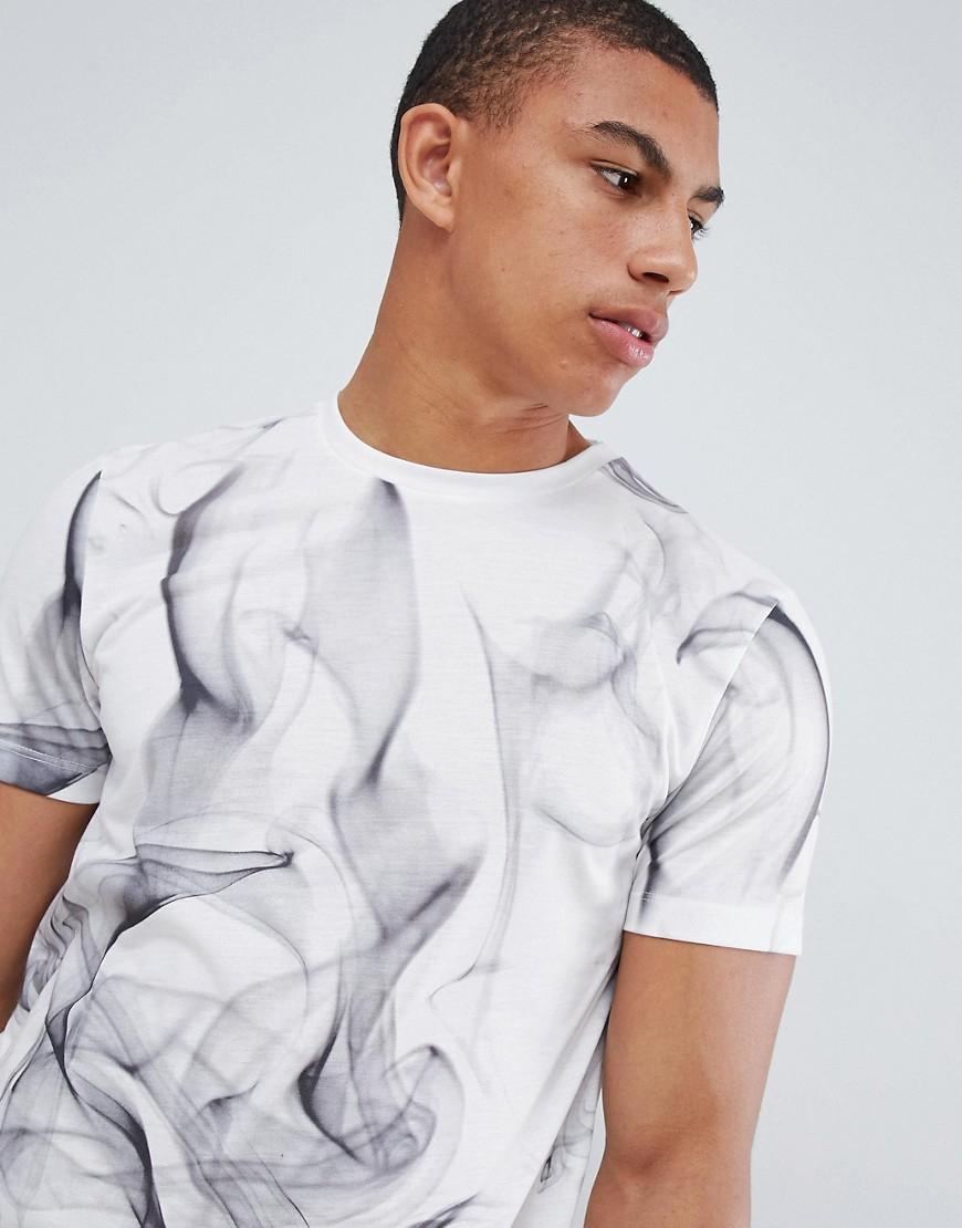New Look | Белая футболка с принтом New Look - Белый | Clouty