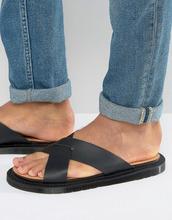 Dr. Martens | Черные сандалии Dr Martens Platt - Черный | Clouty