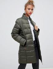Blend She | Длинное стеганое пальто Blend She Dodi - Зеленый | Clouty