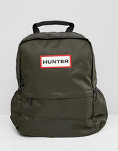 Hunter | Нейлоновый рюкзак оливкового цвета Hunter Original - Зеленый | Clouty