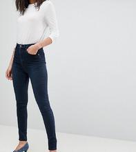 ASOS | Темные джинсы с завышенной талией ASOS DESIGN Tall - Синий | Clouty