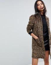 Y.A.S.   Пальто с леопардовым принтом Y.A.S - Мульти   Clouty