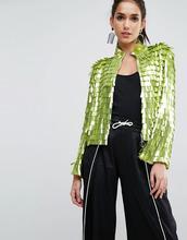 ASOS | Пиджак с пайетками ASOS - Зеленый | Clouty
