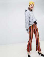 ASOS | Расклешенные брюки в полоску ASOS DESIGN - Мульти | Clouty