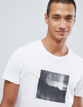 Selected Homme | Футболка с фотопринтом Selected Homme - Белый | Clouty